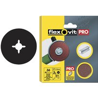 Flexovit 63642527531 Aluminium Oxide Fibre Discs 115mm Coarse 36G ... from Flexovit