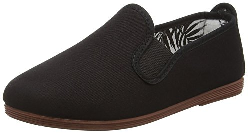 Flossy Pamplona, Unisex Kids' Espadrilles, Black (Black Canvas 100), 11 Child UK (29 EU) from Flossy