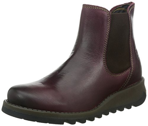 Fly London Women Salv Chelsea Boots, Purple (Purple), 8 UK (41 EU) from Fly London