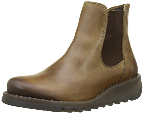 Fly London Women Salv Chelsea Boots, Brown (Camel), 9 UK (42 EU) from Fly London
