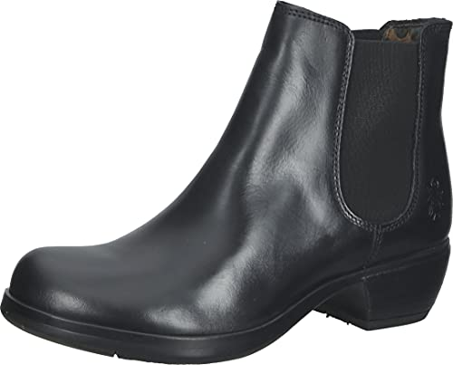 Fly London MAKE, Women's Chelsea Boots, Black (Black 018), 4 UK (37 EU) from Fly London