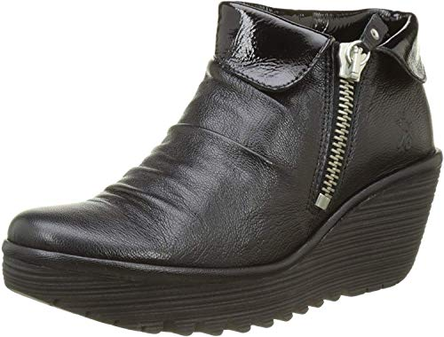 Fly London Women''s Yoxi755Fly Boots, Black (Black), 8 UK 41 EU from Fly London