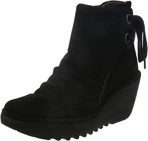 Fly London Yama Oil Suede, Women's Boots, Black (Black 006), 5 UK (38 EU) from Fly London