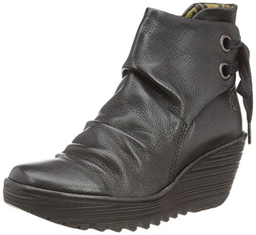 Fly London Yama Women's Boots - Black (Black), 4 UK from Fly London
