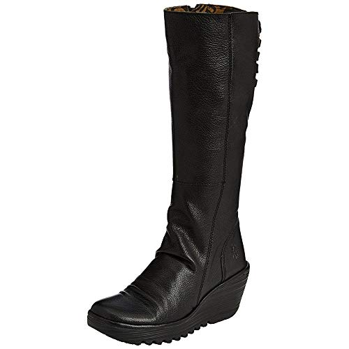 Fly London Yust, Women's Boots, Black (Black 029), 5 UK from Fly London