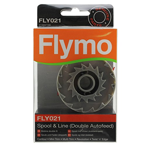 Flymo Genuine Revolution 2000 2300 Strimmer Spool & Line Double Autofeed (FLY021) from Flymo