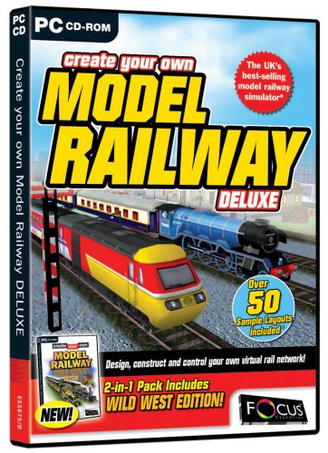 Create Your Own Model Railway Deluxe (PC) from Focus Multimedia Ltd