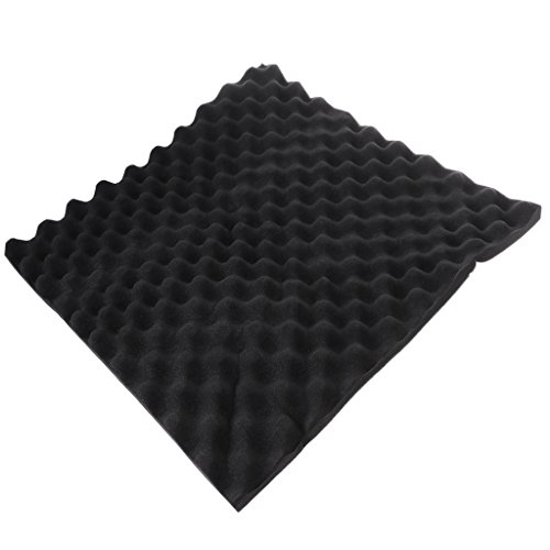 Fogun Acoustic Soundproof Sound Thick Absorption Pyramid Studio Foam Board 50x50x3cm from Fogun