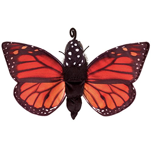 Folkmanis 3073 Monarch Life Cycle Metamorphose Hand Puppet from Folkmanis