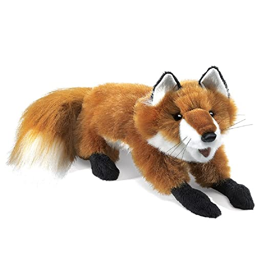 Folkmanis Fox Hand Puppet (Small, Red) from Folkmanis