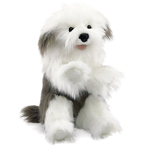 Folkmanis Sheepdog Hand Puppet from Folkmanis