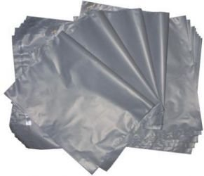 "50 Grey Mailing Bags All Sizes UK Made Plastic Poly Mailers Courier Envelopes - NO CHEMICAL SMELL (4"" x 6"") from Food Packers"