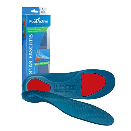 42bf3fe52 FootActive Plantar Fasciitis Insoles - L- 9 10.5 UK from FootActive