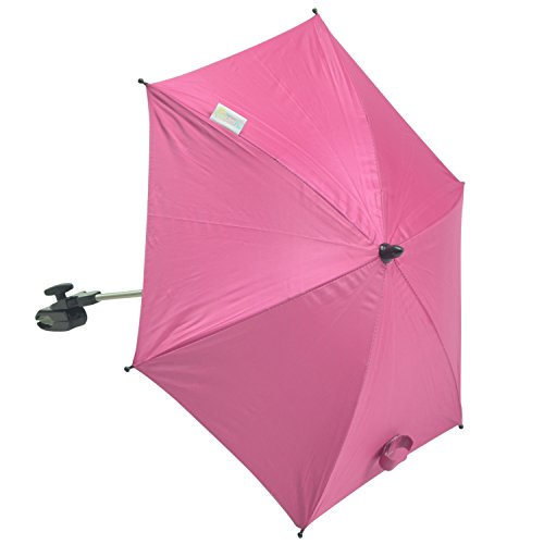 For-Your-little-One Parasol Compatible with Silver Cross Linear, Hot Pink from For-Your-little-One