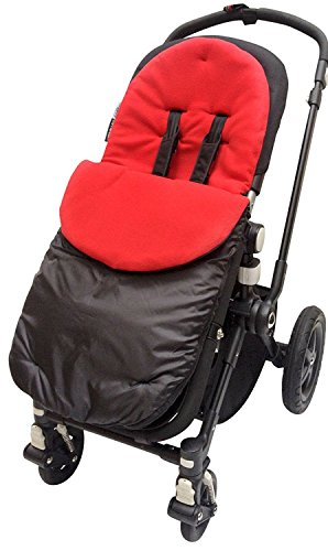 Footmuff/Cosy Toes Compatible with Bugaboo Bee Cameleon Donkey Buffalo Red from For-your-Little-One