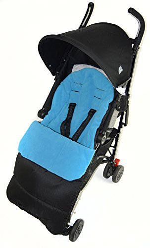 Footmuff / Cosy Toes Compatible with Maclaren Volo Pushchair Ocean Blue from For-your-Little-One