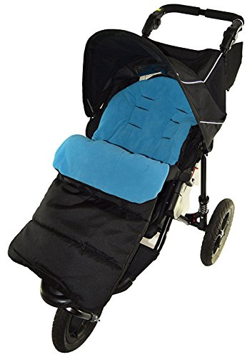 Footmuff/Cosy Toes Compatible with Mountain Buugy Terrain Pushchair Ocean Blue from For-your-Little-One