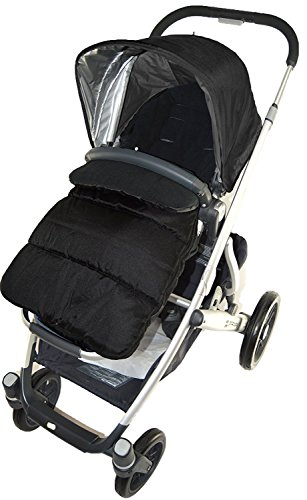 Footmuff/Cosy Toes Compatible with Mutsy Evo Pushchair Black Jack from For-your-Little-One