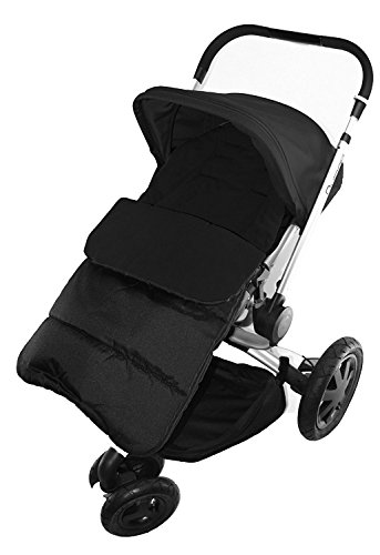 Footmuff/Cosy Toes Compatible with Quinny Moodd Pushchair Black Jack from For-your-Little-One