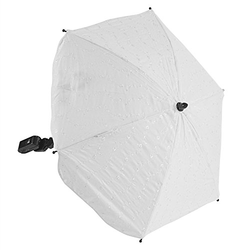 For-Your-Little-One Ba Parasol Compatible with Formula Ba Canne, White from For-your-Little-One