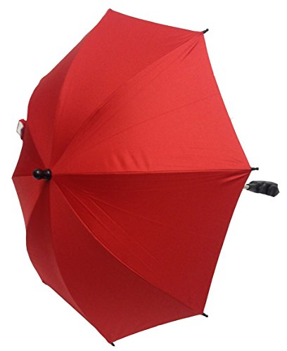 For-Your-little-One Parasol compatible with Teutonia Cosmo 10 Parasols, Red from For-your-Little-One