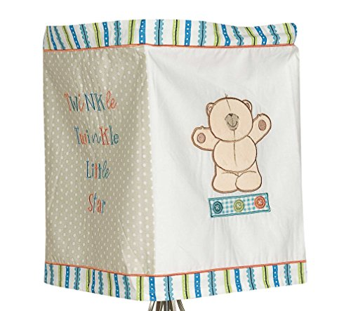 Forever Friends Bear Little Star Fabric Lantern (Blue) from Forever Friends