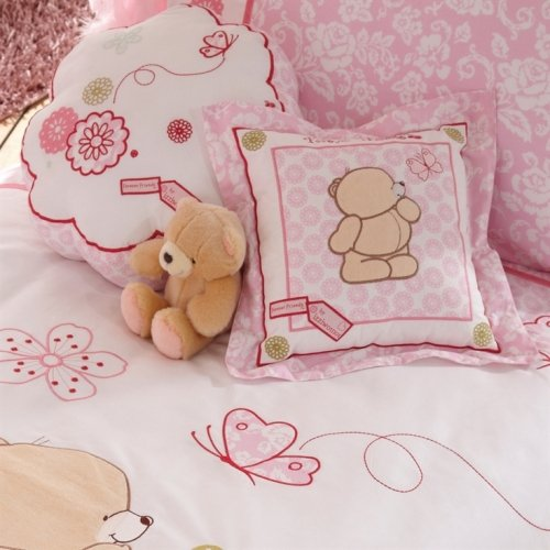 Forever Friends Flower Cushion (Beautiful Pink) from Forever Friends