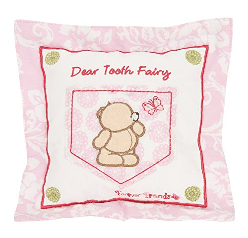 Forever Friends Tooth Fairy Cushion (Beautiful Pink) from Forever Friends