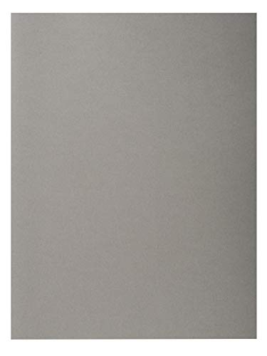 Exacompta Forever Recycled Square Cut Folders, 170 gsm, A4 - Grey, 100 pack from Exacompta