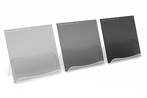 Formatt-Hitech 100x100mm 1 to 3 Stops Firecrest Neutral Density Filter Kit (Pack of 3) from Formatt Hitech