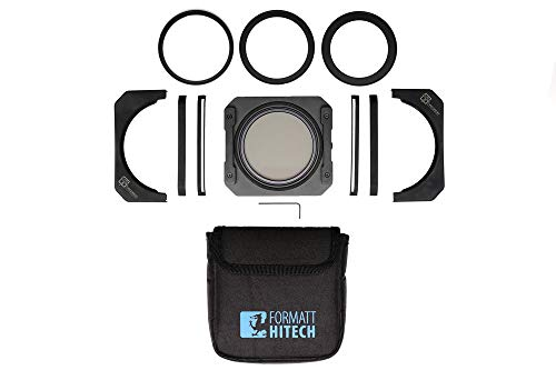 Formatt Hitech Firecrest 100mm Holder Kit - Professional Grade Holder System - Complete Light Leakage Protection - 100x100mm Lightweight Holder Kit with Low Profile Gasket and Extra Oxidisation from Formatt Hitech