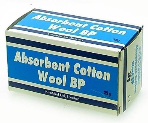Fortuna Absorbent Cotton Wool BP - 25g from Fortuna