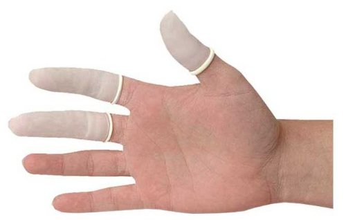 Fortuna Latex Finger Cots - 12 cots from Fortuna