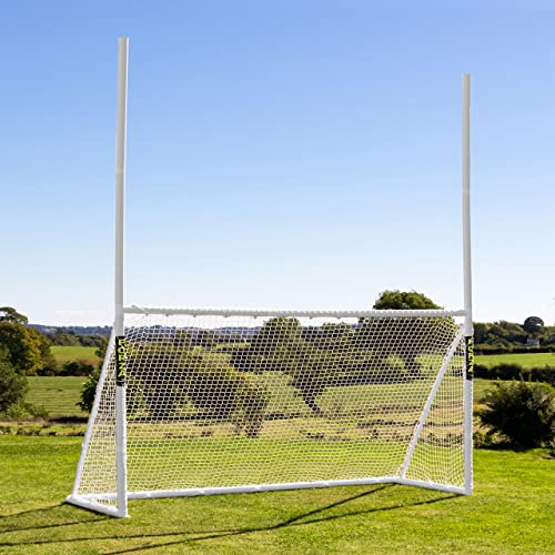 FORZA Gaelic Football & Hurling Goal Posts | Three Weatherproof Net And Frame from FORZA