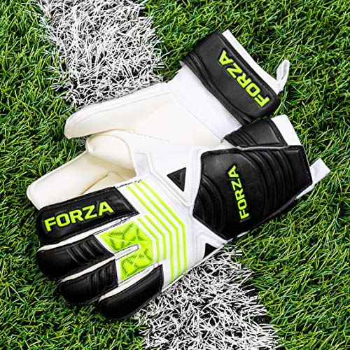 FORZA Sicuro Goalkeeper Gloves - Great Goalie Gloves For Club Level Custodians [Net World Sports] (Size 7 (Large Youth)) from Forza