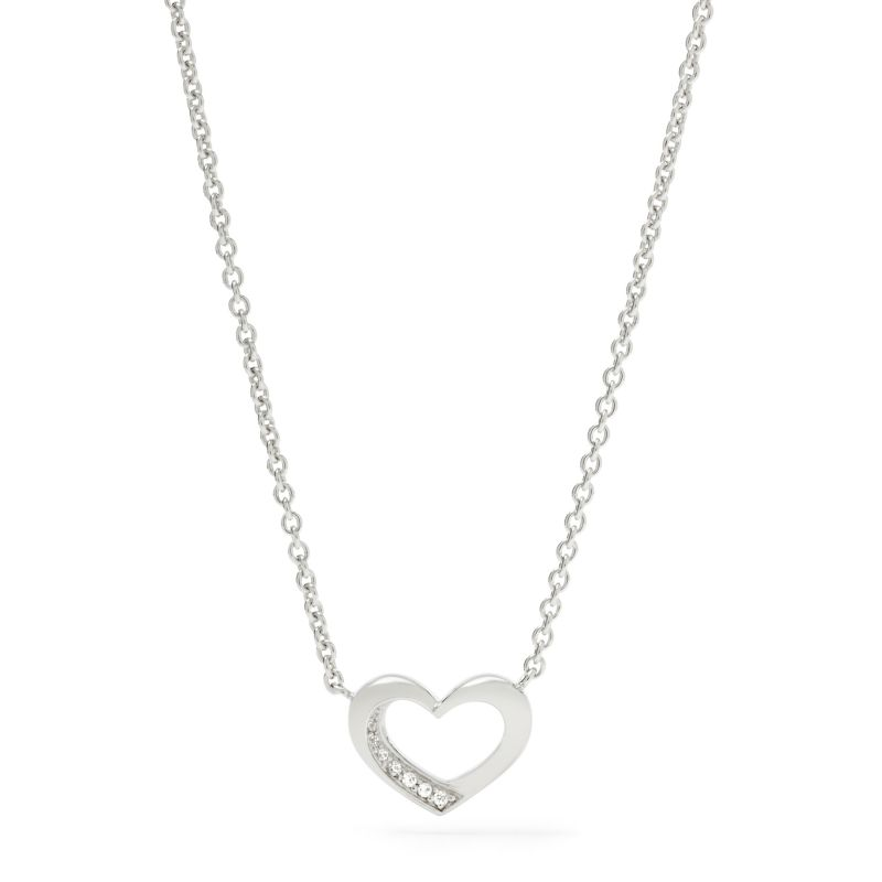 Ladies Fossil Silver Plated Necklace from Fossil Jewellery