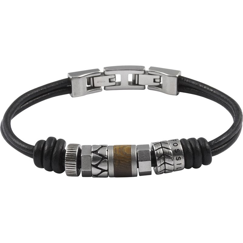 Mens Fossil Stainless Steel Bracelet from Fossil Jewellery