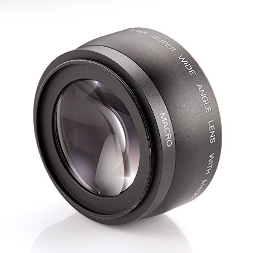 Fotga 43mm 0.45x Wide Angle & Macro Conversion Lens for Canon Nikon, etc. from Fotga