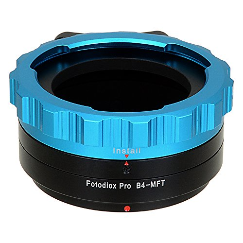 "Fotodiox Pro Lens Mount Adapter - B4 (2/3"") ENG Cine Lens to Micro Four Thirds (MFT, M4/3) Mount Mirrorless Camera Body from Fotodiox"
