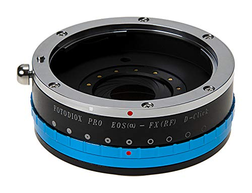 Fotodiox Pro Lens Mount Adapter - Canon EOS (EF / EF-S) D/SLR Lens to Fujifilm X-Series Mirrorless Camera Body from Fotodiox