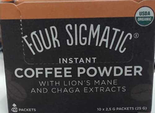 Four Sigma Foods Mushroom Coffee with Lion's Mane and Chaga from Four Sigma Foods