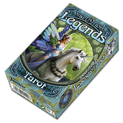 Fournier TAROT LEGENDS BY ANNE STOKES from Fournier