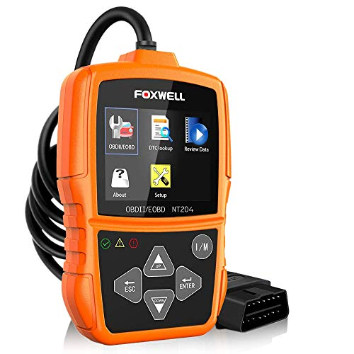 Foxwell NT204 Engine Scan Tool for UK Cars OBD-II / EOBD from Foxwell