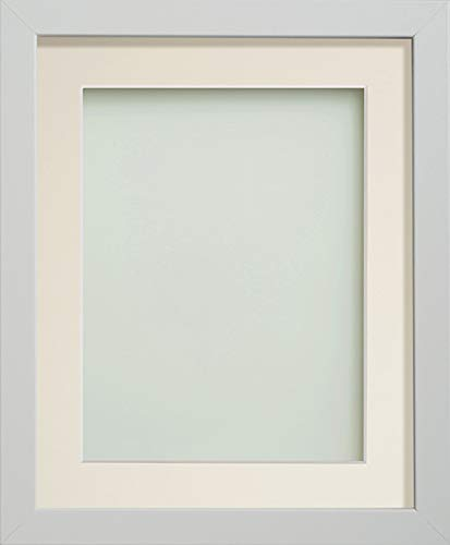 Frame Company Allington Range Picture Photo Frame with Ivory Mount for Image Size 14 x 10 Inches - 16 x 12 Inches, White from Frame Company