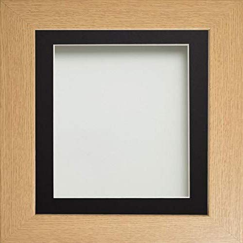 Frame Company Watson Range Picture Photo Frame with Black Mount for A4 Size Image, Wood, Beech, A3 Size from Frame Company