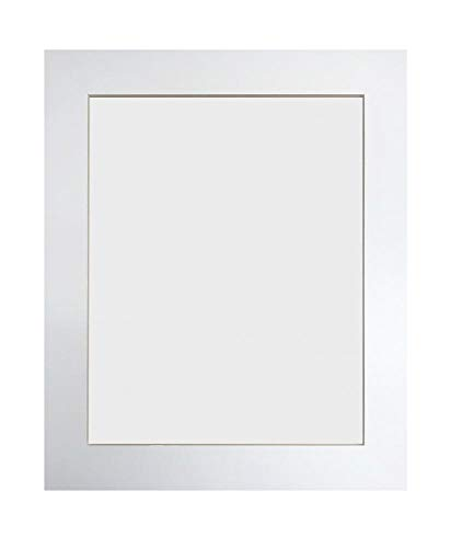Metro White Picture Photo Frame 16 x 12 inch from Frames by Post