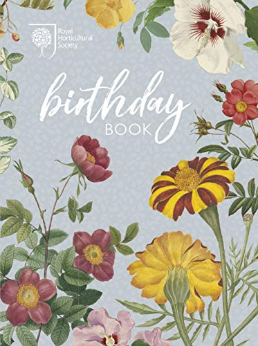 RHS Birthday Book (Stationery) from Frances Lincoln Publishers Ltd