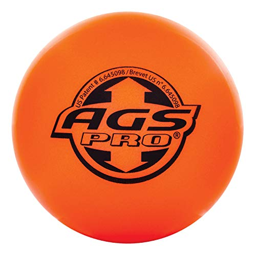 Franklin AGS High Density 12217 Street Hockey Ball Orange from Franklin Sports