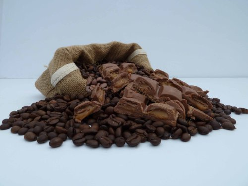 Chocolate Caramel Flavoured Coffee (500g, Beans) from Fresco
