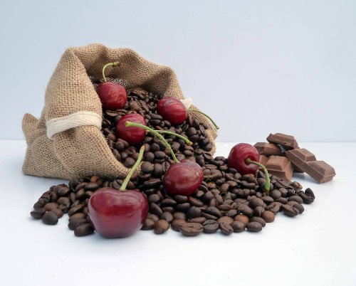 Chocolate Cherry Flavoured Coffee (1kg, Beans) from Fresco